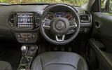 Jeep Compass 2018 road test review - dashboard
