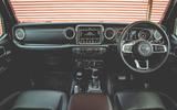Jeep Wrangler 2019 road test review - dashboard