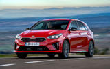 Kia Ceed GT 2019 road test review - cornering front