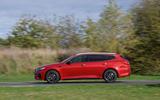 Kia Optima Sportswagon 2018 review - on the road left