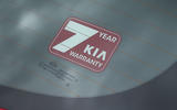 Kia Stinger GT line 2018 review warranty sticker