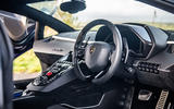 Lamborghini Aventador SVJ 2019 road test review - cabin