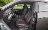 Lamborghini Urus 2019 road test review - front seats