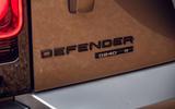 Land Rover Defender 2020 road test review - rear badge