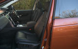 Land Rover Discovery Sport 2020 road test review - front seats