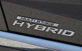 Lexus LS500h 2018 road test review hybrid badge