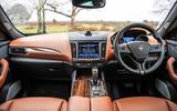 Maserati Levante S GranLusso 2019 road test review - cabin