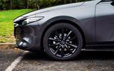 Mazda 3 Skyactiv-X 2019 road test review - alloy wheels
