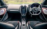 12 McLaren GT 2021 road test review dashboard
