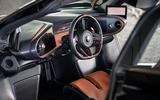 McLaren Speedtail 2020 UK first drive review - cabin