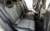 Mercedes-AMG CLA 45 S 2019 road test review - rear seats