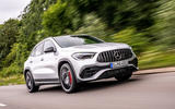 Mercedes-AMG GLA 45 S Plus 2020 road test review - on the road front