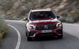 Mercedes-AMG GLB 35 2020 road test review - cornering front