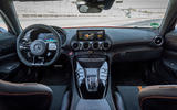 Mercedes-AMG GT Black Series road test review - dashboard