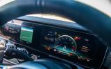 Mercedes-AMG GT four-door Coupé 2019 road test review - instruments