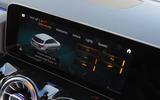 Mercedes-Benz B-Class 2019 road test review infotainment