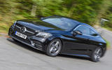 Mercedes-Benz C-Class Coupe 2019 review - on the road front