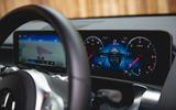 Mercedes-Benz GLB 2020 road test review - instruments