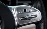 Mercedes-Benz GLS 2020 road test review - steering wheel buttons
