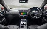 MG 5 SW EV 2020 Road test review - dashboard