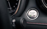 MG HS 2019 road test review - start button