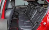 Mitsibushi Eclipse Cross 2018 review rear seats