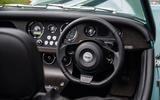 Morgan Plus Four 2020 road test review - steering wheel
