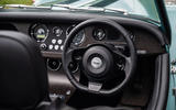 Morgan Plus Four 2020 road test review - steering wheel