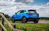 Nissan Qashqai road test review static rear