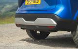 12 Nissan Qashqai 2021 RT rear bumper