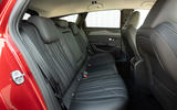 12 Peugeot 308 SW 2021 first drive rear seats