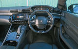 Peugeot 508 2018 road test review - dashboard