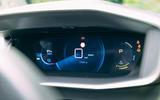 Peugeot e-2008 2020 road test review - instruments
