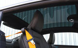 Polestar 1 2020 road test review - seatbelts