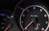 Porsche Macan Turbo 2019 road test review - tacho