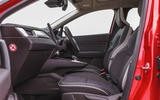 Renault Captur 2020 road test review - cabin