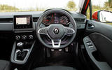 Renault Clio 2019 road test review - dashboard