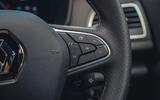 12 Renault Megane E Tech PHEV road test 2021 steering wheel buttons