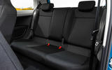 Skoda Citigo 2017 first drive review rear seats
