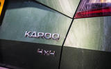 Skoda Karoq Scout 2019 road test review - rear badges