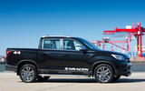 Ssangyong Musso Saracen 4x4 2018 road test review static side