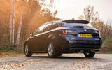 12 suzuki swace 2021 uk first drive review static rear