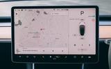 Tesla Model 3 road test - navigation