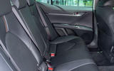 Toyota Camry 2019 review - rear seats