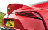 Toyota GR Supra 2019 road test review - spoiler