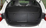 Toyota Yaris GRMN boot seats up