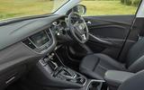 Vauxhall Grandland X Hybrid4 2020 road test review - cabin