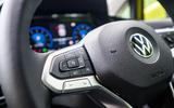Volkswagen Golf 2020 road test review - steering wheel
