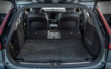Volvo V60 Cross Country 2019 road test review - boot seats folded