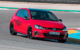 Volkswagen Golf GTI TCR 2019 road test review - track front